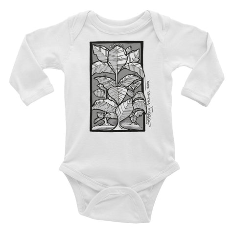Victms 1975 Heritage - Tobacco Leaf Jessi Flores 2020 Signature Infant Long Sleeve Bodysuit