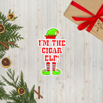 XMASH COLLECTION 2020 - I'M THE CIGAR ELF Bubble-free stickers
