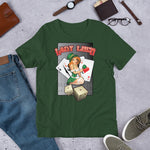 NEAL WOLLENBERG COLLABORATION BEER ART Lady Luck Short-Sleeve Unisex T-Shirt