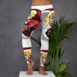 NEAL WOLLENBERG COLLABORATION BEER ART - LOVE/SIN FULL PRINT Leggings