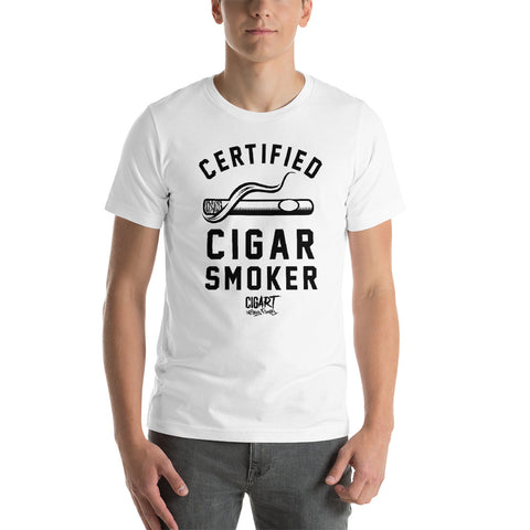 Cigar Art (CIGART) - BOTL Certified Cigar Smoker Tee