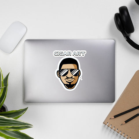 Cigar Art (CIGART) Jessi Bobble Head Bubble-Free Stickers