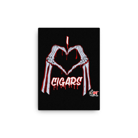 VICTMS1975 HERITAGE ( I LOVE CIGARS) Canvas