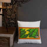 Cigar Art (CIGART) LA COCECHA (THE HARVEST) Premium Pillow
