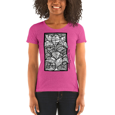 Victms 1975 Heritage - SOTL Tobacco Leaf Jessi Flores 2020 Signature Form-Fitting Tee