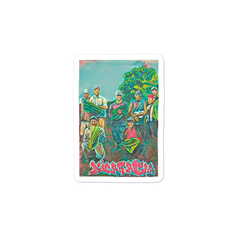 VICTMS1975 - FARM LIFE by Jessi Flores CANVAS ART Bubble-free stickers