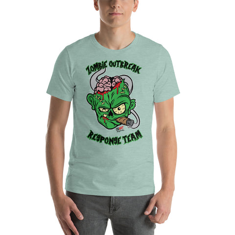 Cigar Art (CIGART) - BOTL Green Cigar Zombie Tee