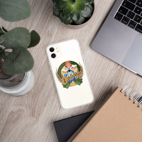 Neal Wollenberg COLLABORATION BEER ART iPhone Case