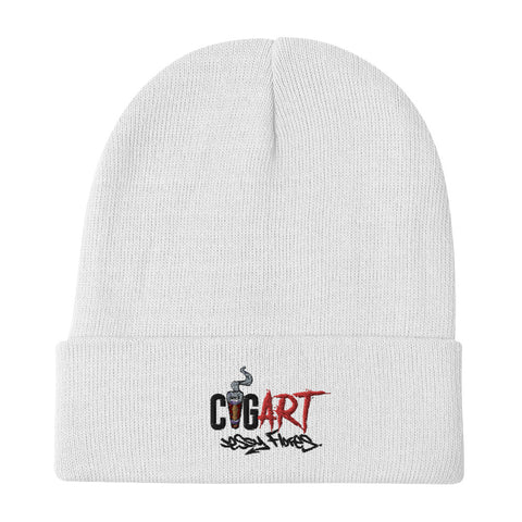 Cigar Art (CIGART) - Embroidered Logo Beanie