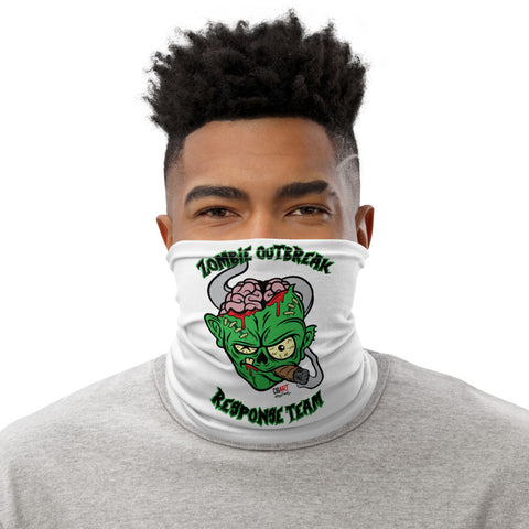 Cigar Art (CIGART) - Green Zombie Face Covering Neck Gaiter