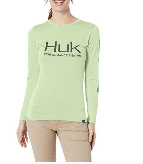 Huk H6120018-336-XL Icon Long Sleeve – Womens – X-Large
