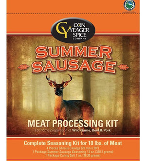 Con Yeager Spice Summer Sausage Jerky Meat Processing Kit 40420