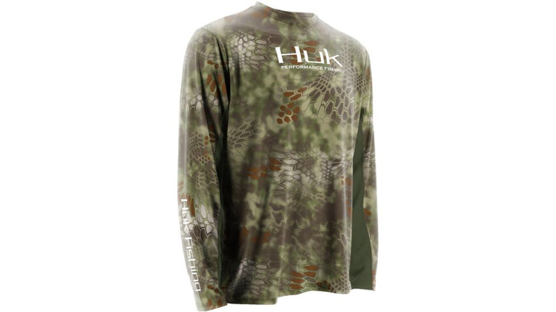 Huk Men's Kryptek ICON Long Sleeve Shirt