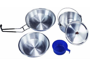 Stansport Deluxe Aluminum 5 piece Cook Set