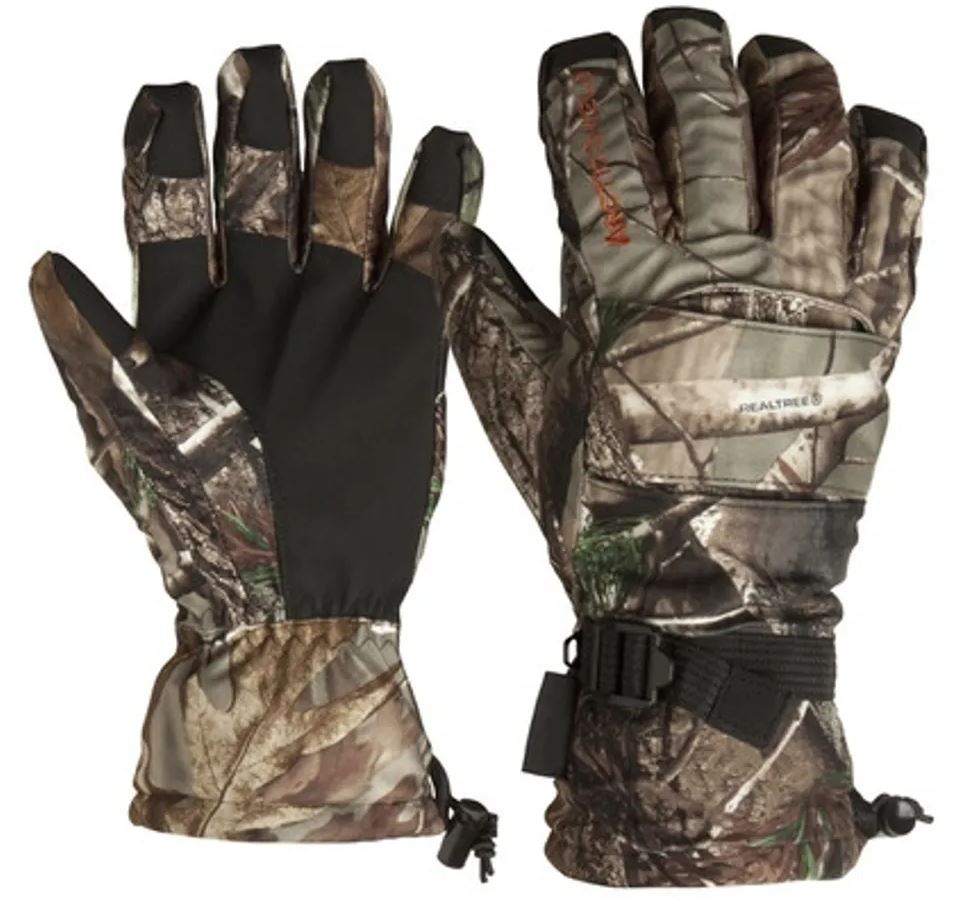 Arctic Shield Lined Camp Gloves Mossy Oak Infinity