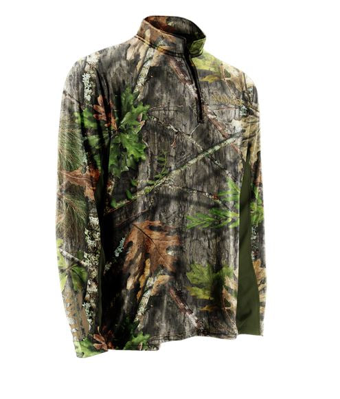 Nomad Men's NWTF 1/4 Zip Long Sleeve Shirt
