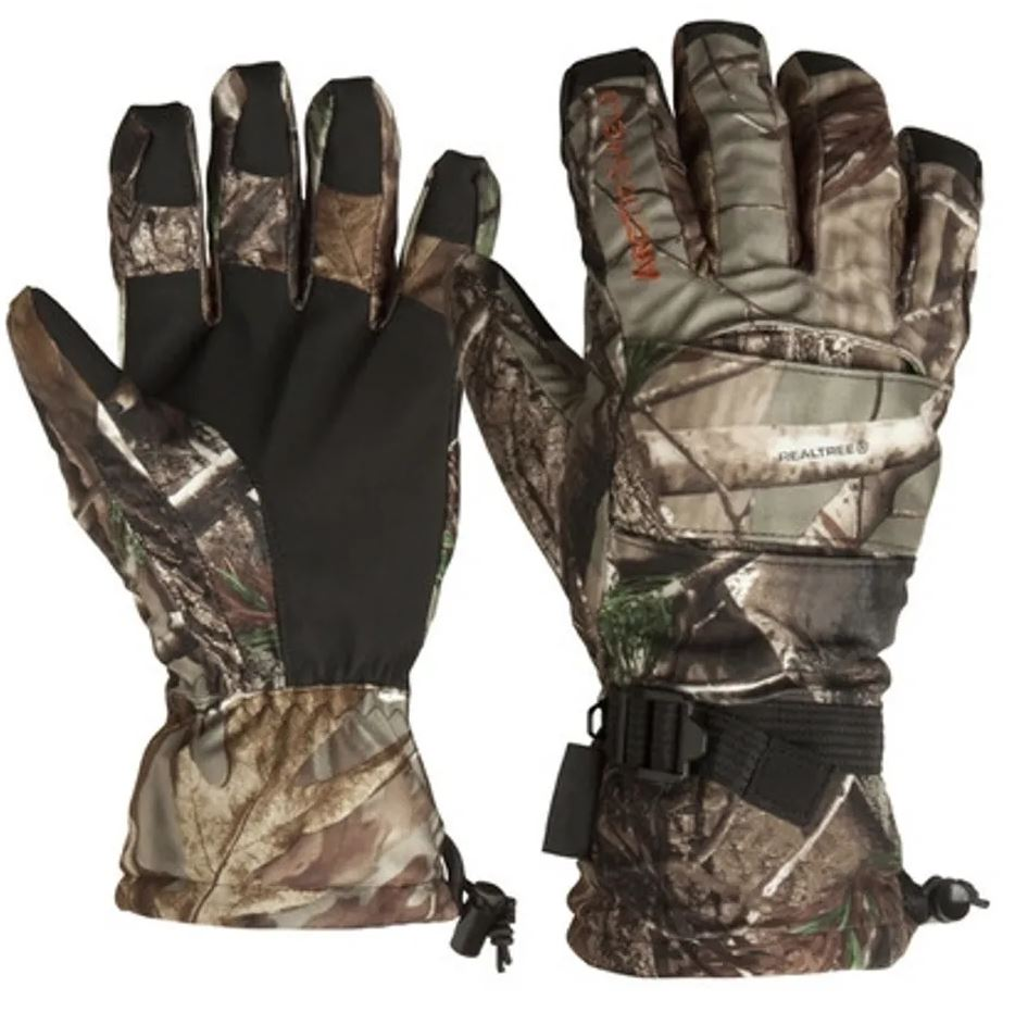 Arctic Shield Lined Camp Gloves Realtree AP Large