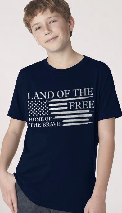 NineLine Home of the Brave - Youth T-shirt