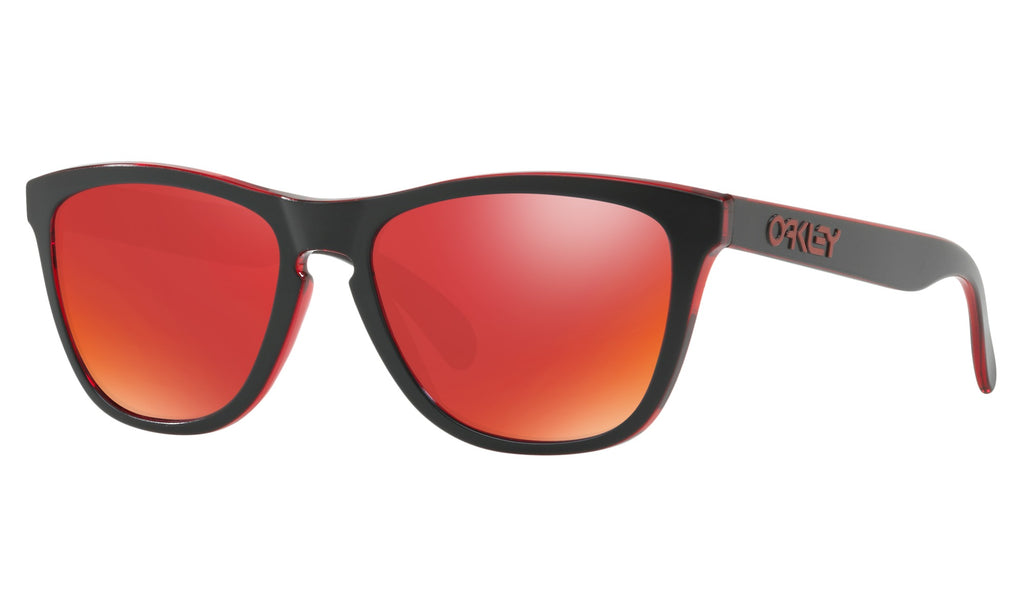 Oakley Men's Eclipse Red Sunglasses OO9013-A7
