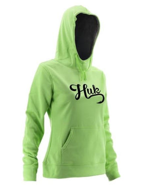 Huk H6130002-330 Performance Hoodie - Lime H6130002-330