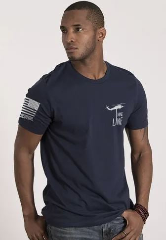 NineLine Men's T-Shirt - I Stand - Navy