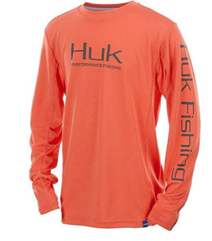 Huk Youth Icon Long Sleeve H7120006-630