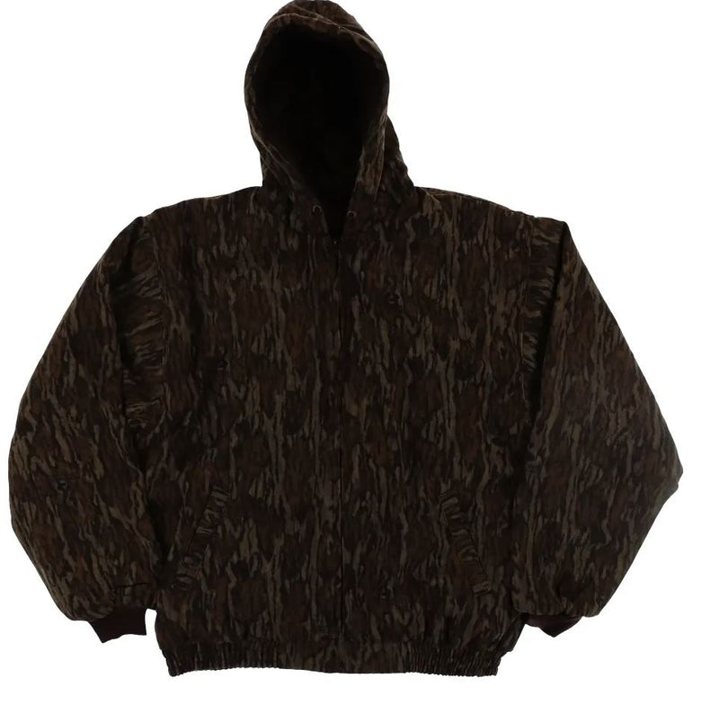 Pursuit Gear Stalker Bomber Jacket Mossy Oak Camo Pattern