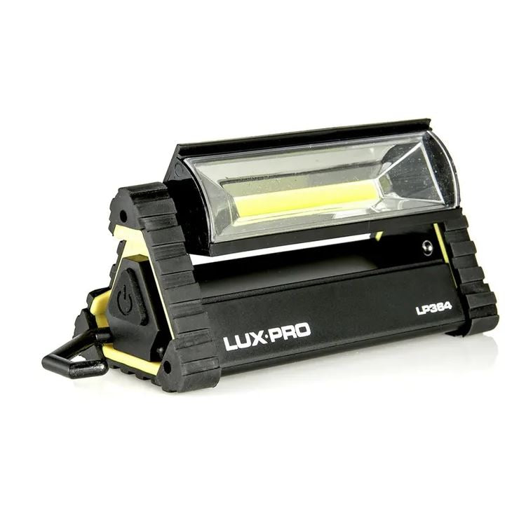 LuxPro 180 Lumen Broadbeam LED Area Light Includes 4 AAA LP364