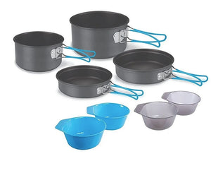 Stansport Hand Anodized Aluminum Cook Sets