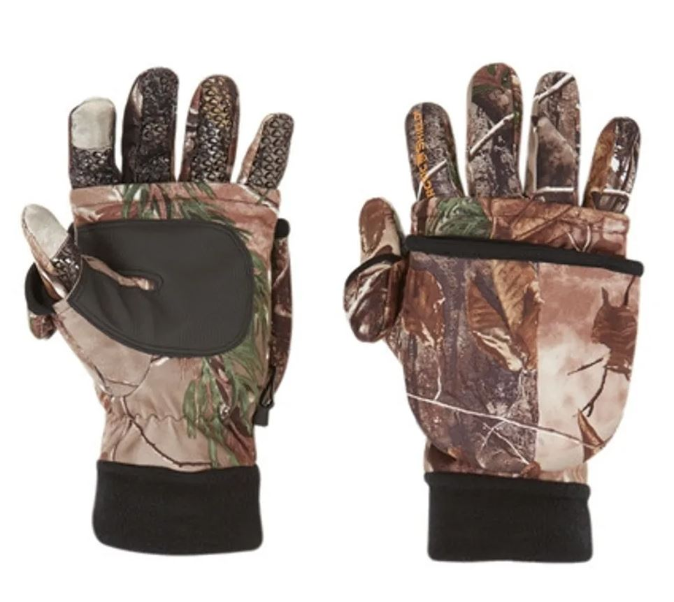 Arctic Shield Tech Finger System Gloves Realtree XTRA