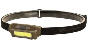 Streamlight Bandit Rechargeable LED Headlamp - White and Red COB LED Technology - 180 Lumens - Includes Built-In 450mAh Lithium Polymer (Li-Poly) Battery Pack