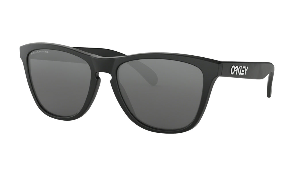 Oakley Men's Frogskins Matte Black Sunglasses 24-297