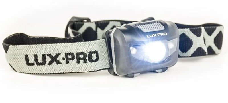 LuxPro Extreme 340 140 Lumen LED Headlamp - Includes Batteries