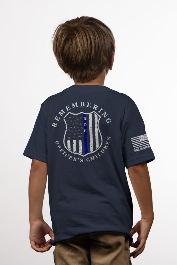 NineLine Youth t-shirt Remembering Officer's Children