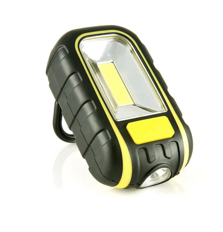 LuxPro Flashlights LED Handheld Work light with magnet