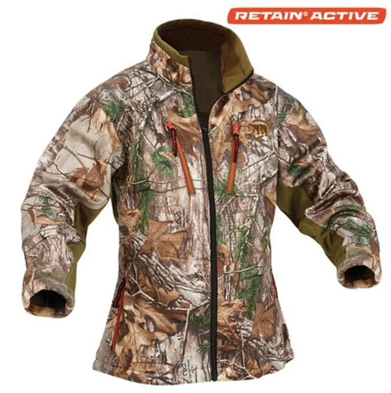 Arctic Shield Women's Heat Echo Light Jacket Realtree XTRA