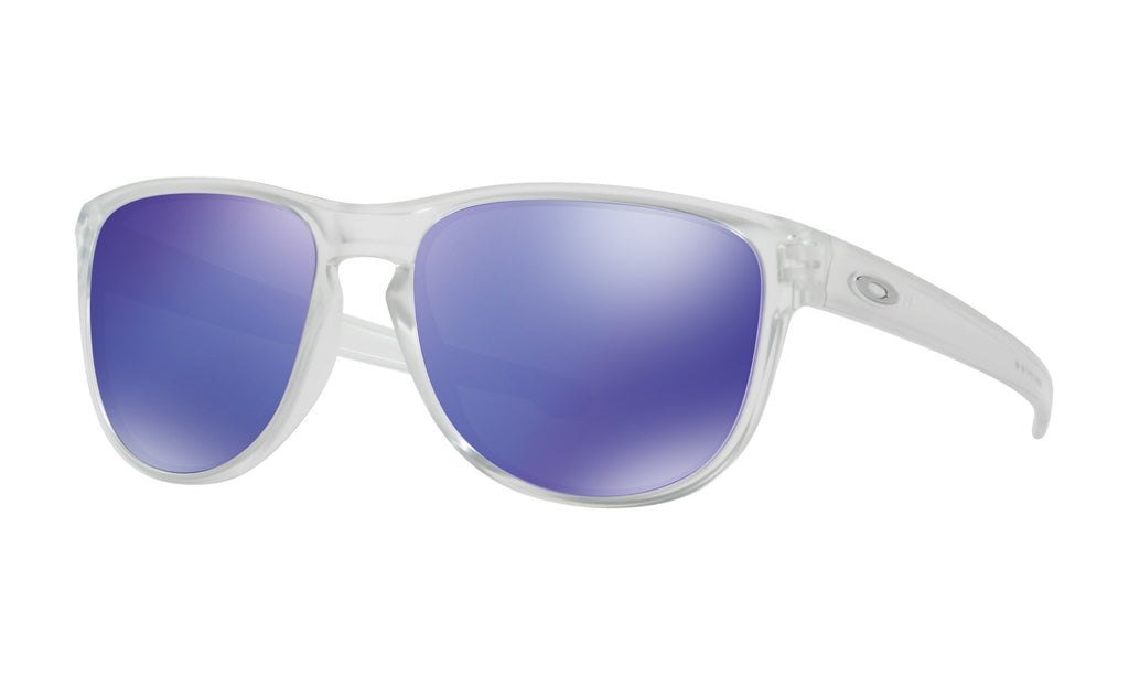 Oakley Men's Sliver™ Round Matte Clear Sunglasses OO9342-02