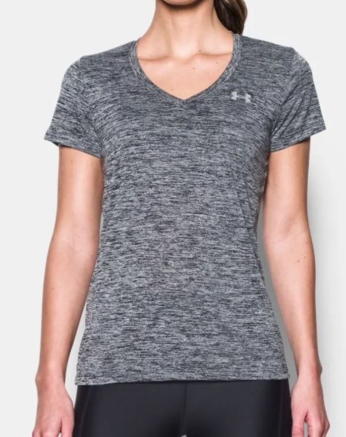 Under Armour Women's Tech V-Neck Short Sleeve - 1258568-001