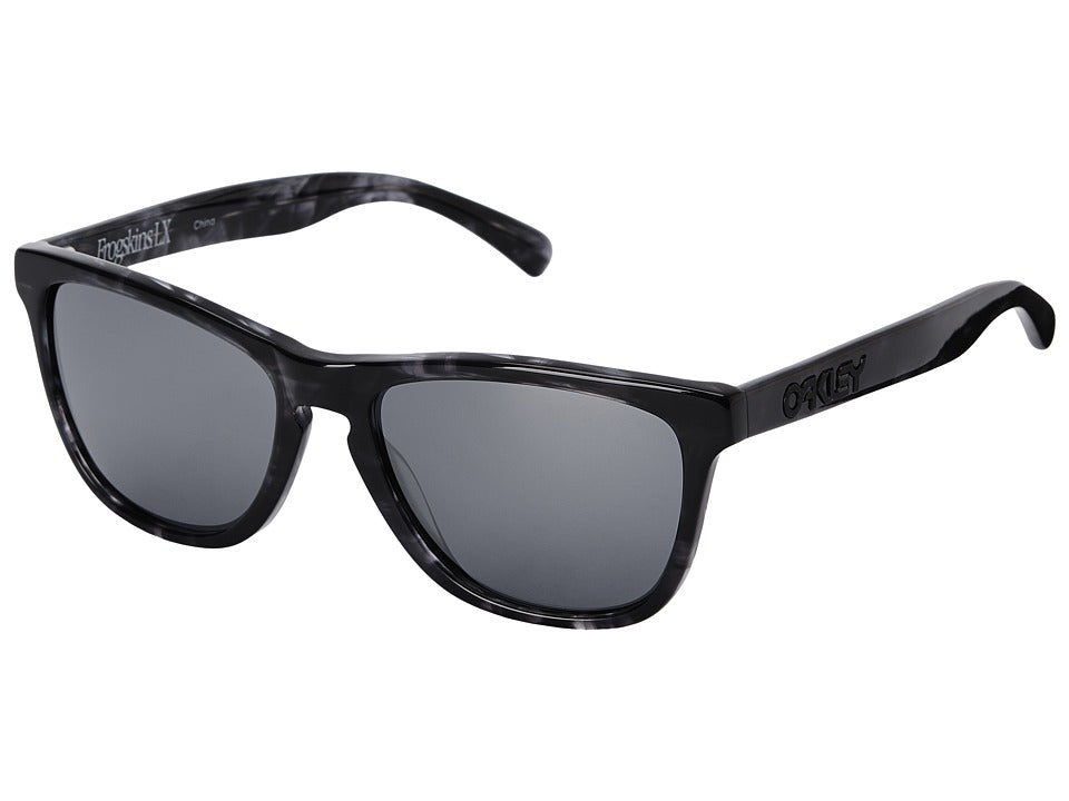 Oakley - Frogskins LX (Black Iridium w/ Dark Grey Tortoise) Fashion Sunglasses - OO2043-08_140
