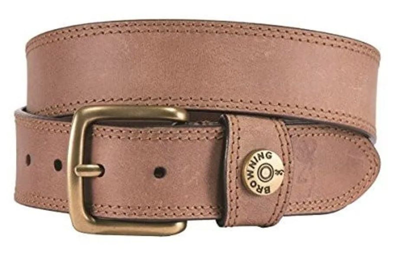 Browning Men's Leather Slug Belt 	A000293520109