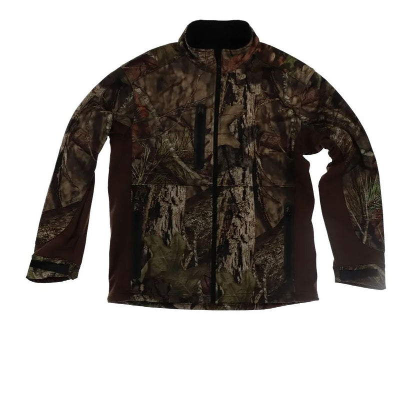 Pursuit Gear Quest Softshell Jacket Mossy Camo Pattern Men's