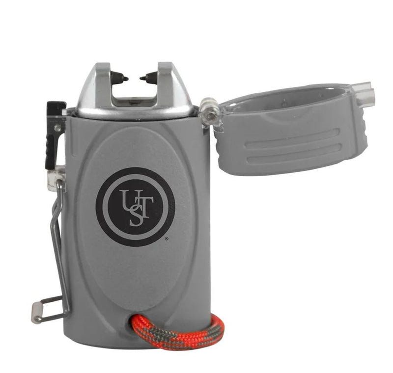 UST Brands 20-12425 TekFire LED Fuel-Free Lighter - Gray