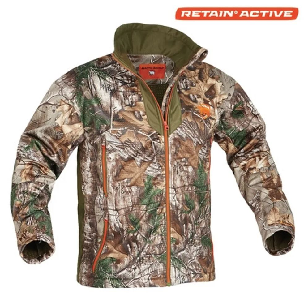 Arctic Shield Men's Heat Echo Light Jacket Realtree XTRA