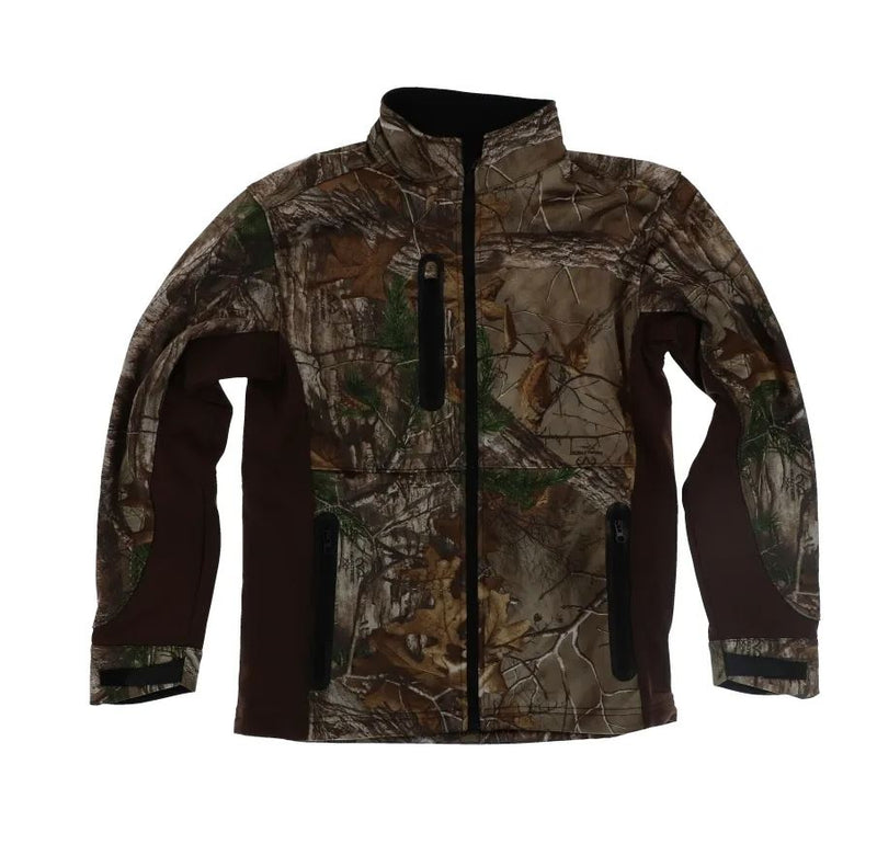 Pursuit Gear Quest Soft Shell Men's Jacket Realtree Xtra Camo Pattern