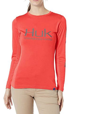 Huk H6120018-630 Icon Long Sleeve – Womens
