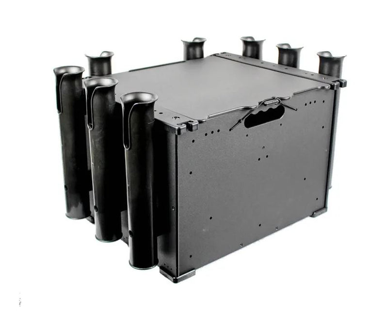 YakAttack BLP-121611 BlackPak™ Kayak Fishing Crate - Black
