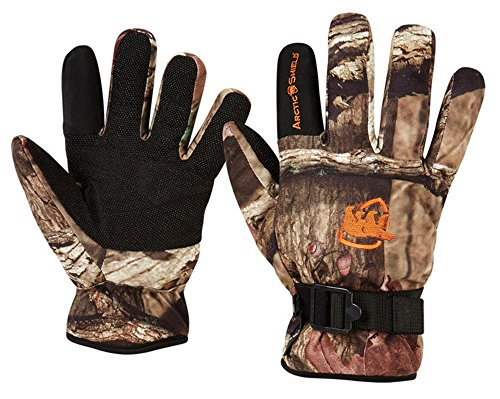 Arctic Shield Camp Gloves Mossy Oak Infinity