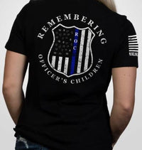 NineLine Remembering Officer's Children TShirt