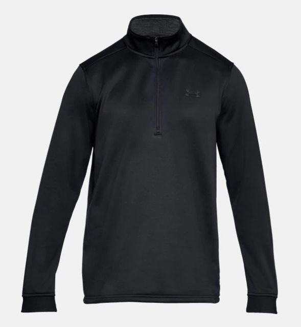 Under Armour 1320745-001 Armour Fleece 1 / 2 Zip - Black -  3XL