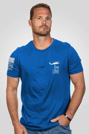 NineLine Men's T-Shirt - Strong - Royal